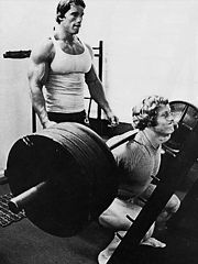 Arnie watching Ken Waller