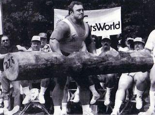 Kaz enjoying a little log work