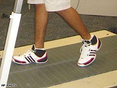 Split-belt treadmill