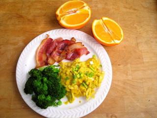 Bacon, Eggs & Greens