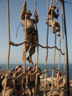 Rope Climbing in the Legion