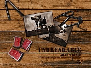 'Unbreakable' Adam T Glass