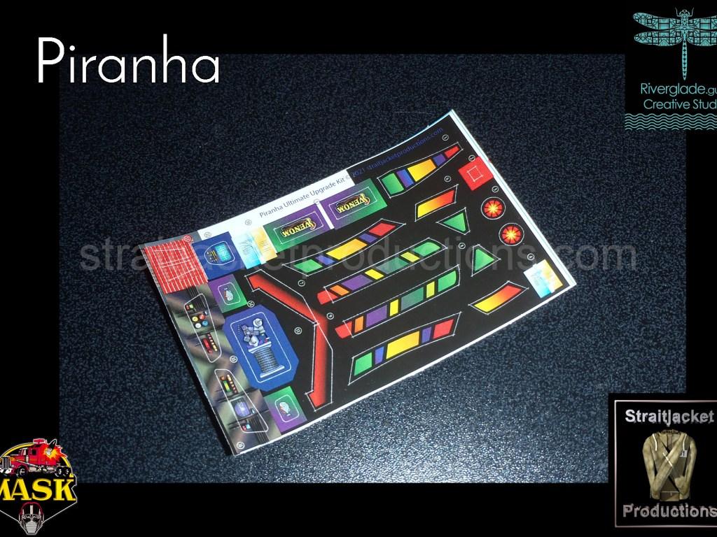 MASK M.A.S.K. Piranha Ultimate Upgrade Kit
