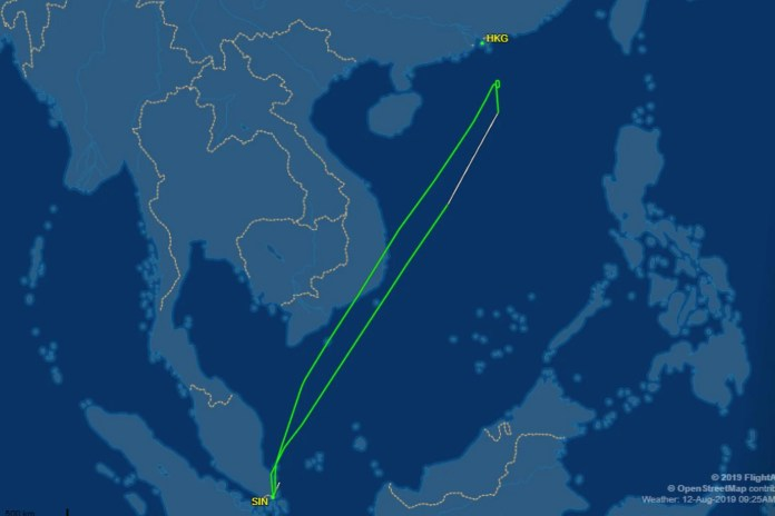 Scoot flight makes u-turn back to Singapore – half an hour from Hong Kong airport 2