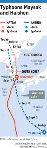 Livestock Ship Sinks Off Japan As Typhoon Lashes East China Sea East Asia News Top Stories The Straits Times