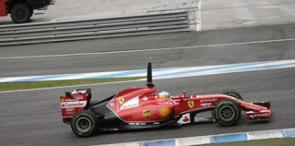 Formel1 Training in Jerez de la Frontera 2014
