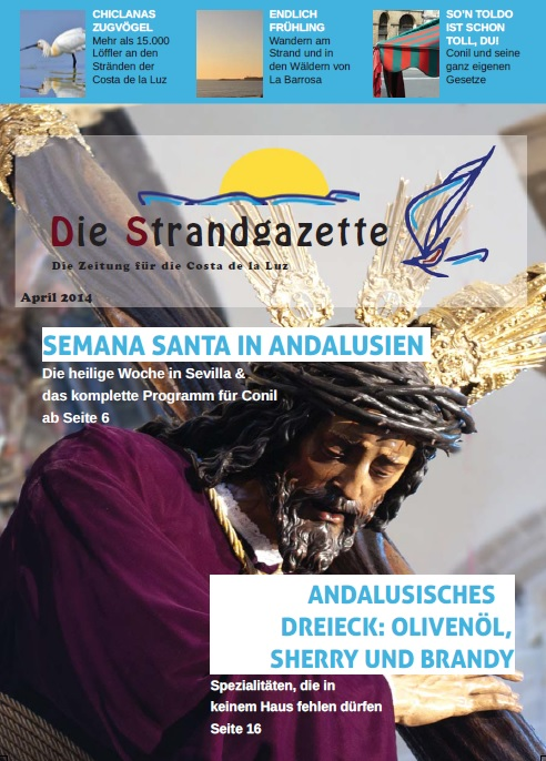 Strandgazette April Cover
