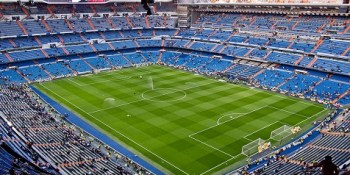 Estadio Santiago Bernabéu de Real Madrid