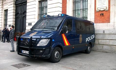 Policia Nacional Spanien