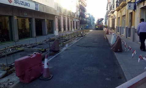 Calle Mendizabal Chiclana