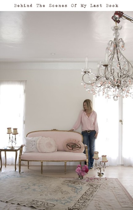 Great pink and white room by Rachel Ashwell