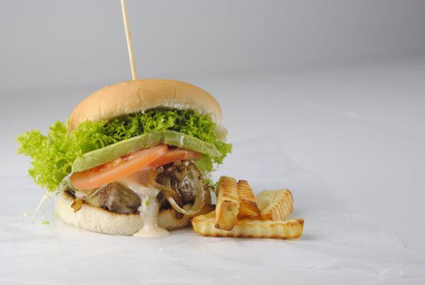 Chilli Sauce Hamburger