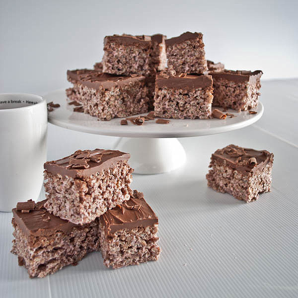 Cocoa Pop Krispies With Chocolate Nutella Icing Gluten Free