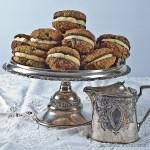 Blueberry Oatmeal Cream Cookies