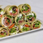 Beef-feta-and-tomato-wraps