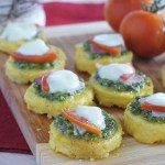 Polenta bites - low Fodmap