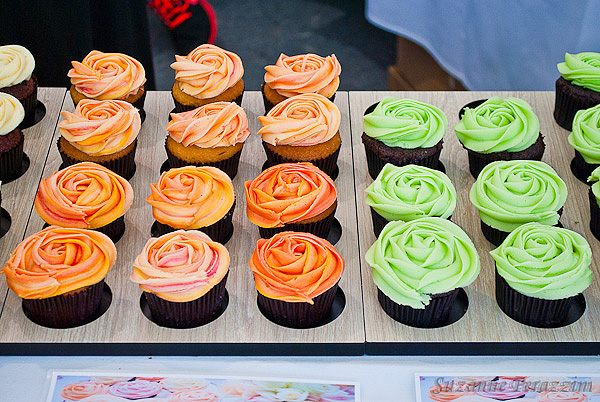Cupcakes at The Taste of Auckland