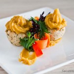 Chicken Cupcakes with Sweet Potato Topping