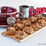 Coconut Cranberry Cookies - grain, nuts and sugar-free
