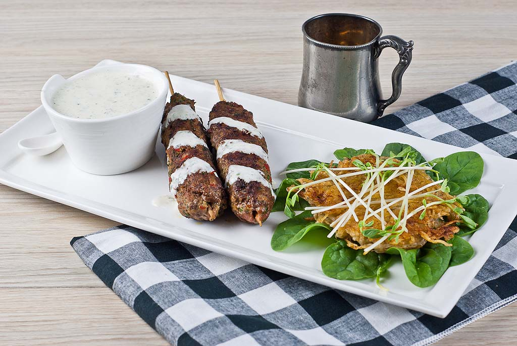 Lamb Kofta & Potato Rosti - gluten-free and fructmal friendly