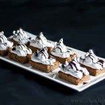 Banana peanut butter meringue bars - gluten & grain-free