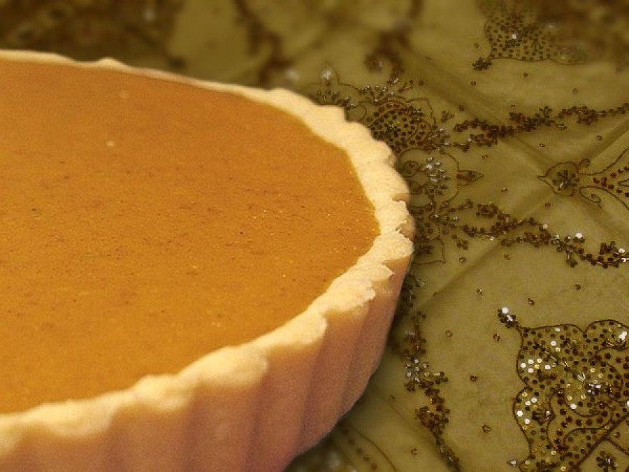 pumpkin tart - Orgasmic Chef