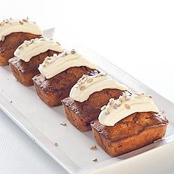 Mini Carrot Cake loaves - Gluten-Free & Low FODMAP