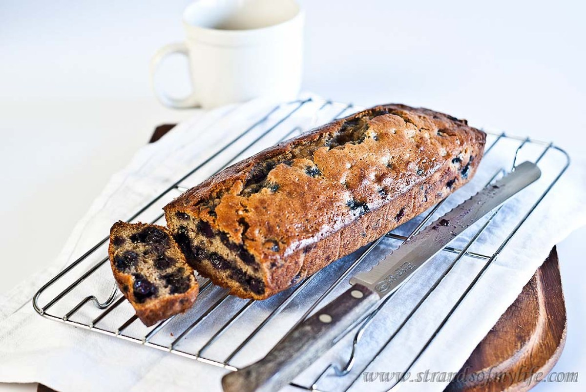 Banana and Blueberry Loaf - gluten-free & low FODMAP