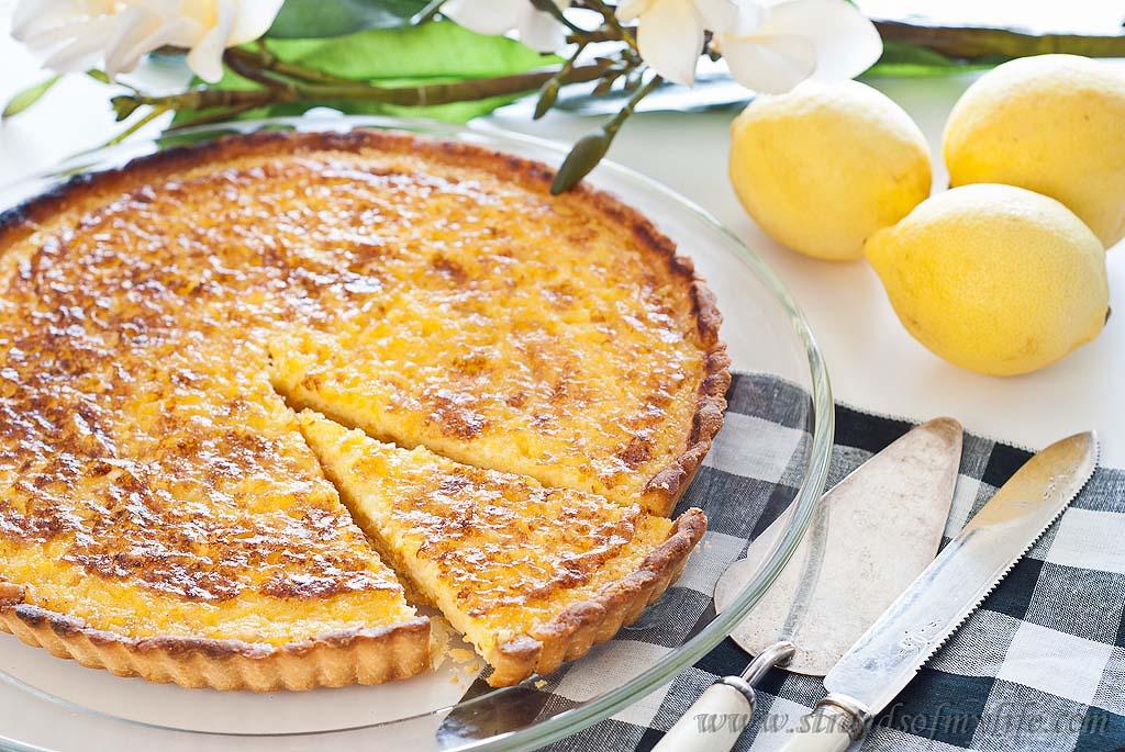 Lemon Tart - Gluten-Free & Low FODMAP