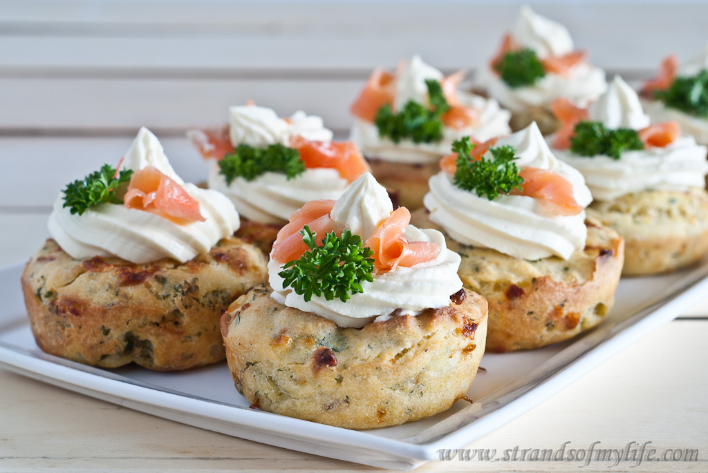 Cheese and Parsley Muffins - gluten-free and low FODMAP