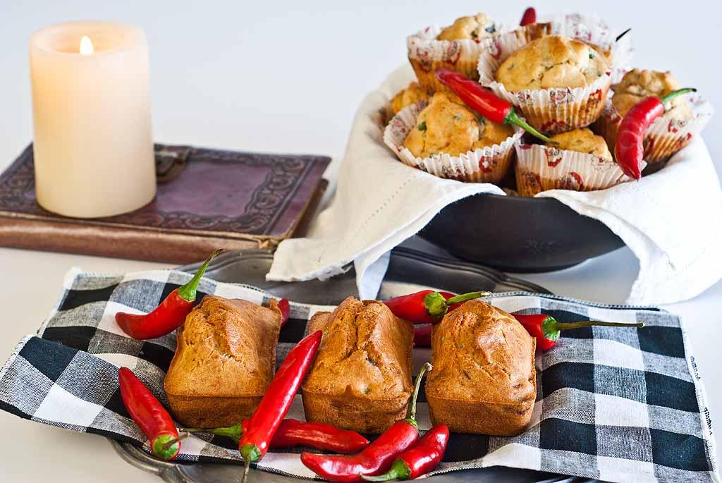 Chilli Eggplant Muffins - gluten-free & Low FODMAP