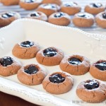 Thumbprint Cookies - gluten-free and low FODMAP