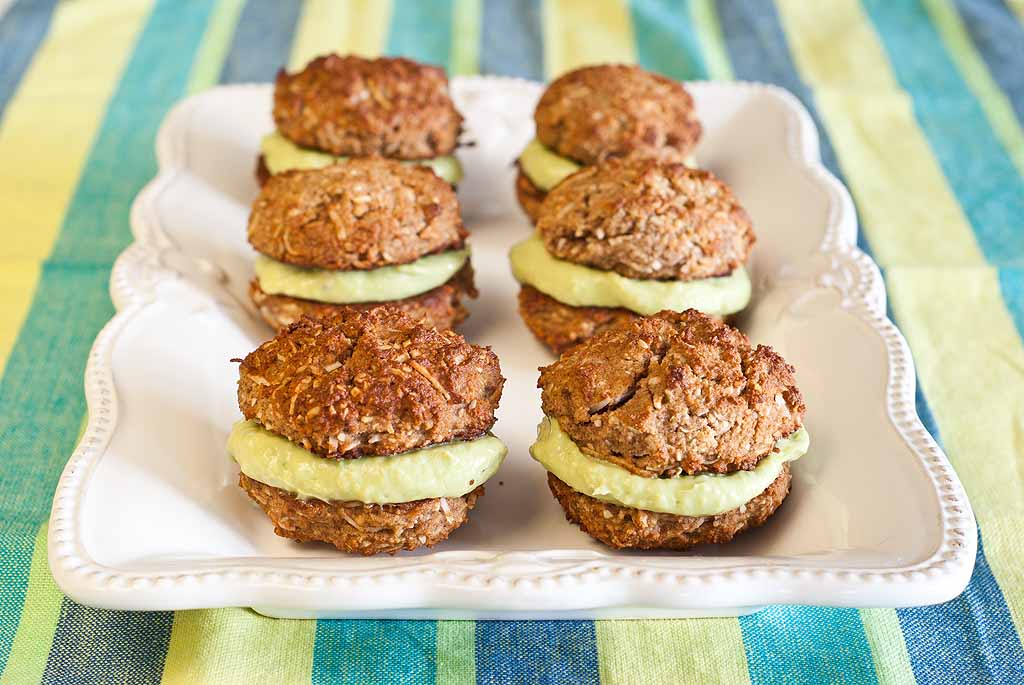 Key Lime Whoopie Pies - a gluten-free recipe and low FODMAP