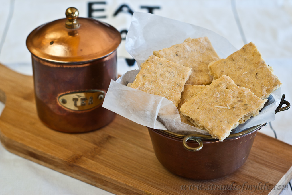 Rice Flake parmesan Crackers - a gluten-free recipe and low Fodmap