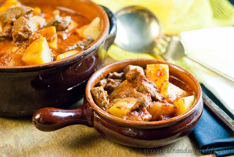 Hungarian Goulash -low Fodmap