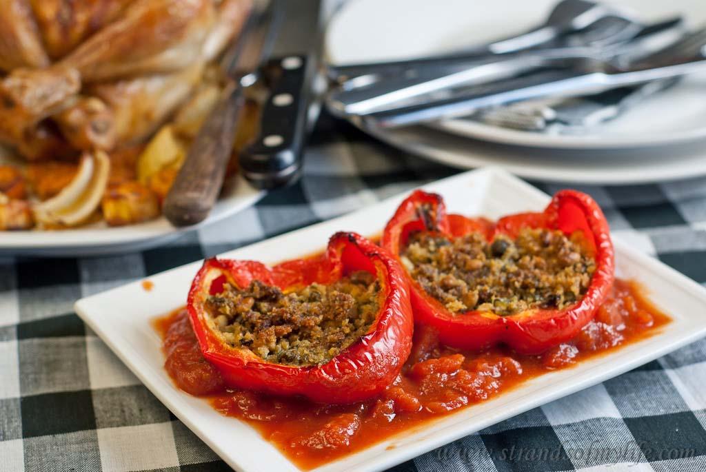 Stuffed Peppers Italian-Style – low Fodmap and gluten-free