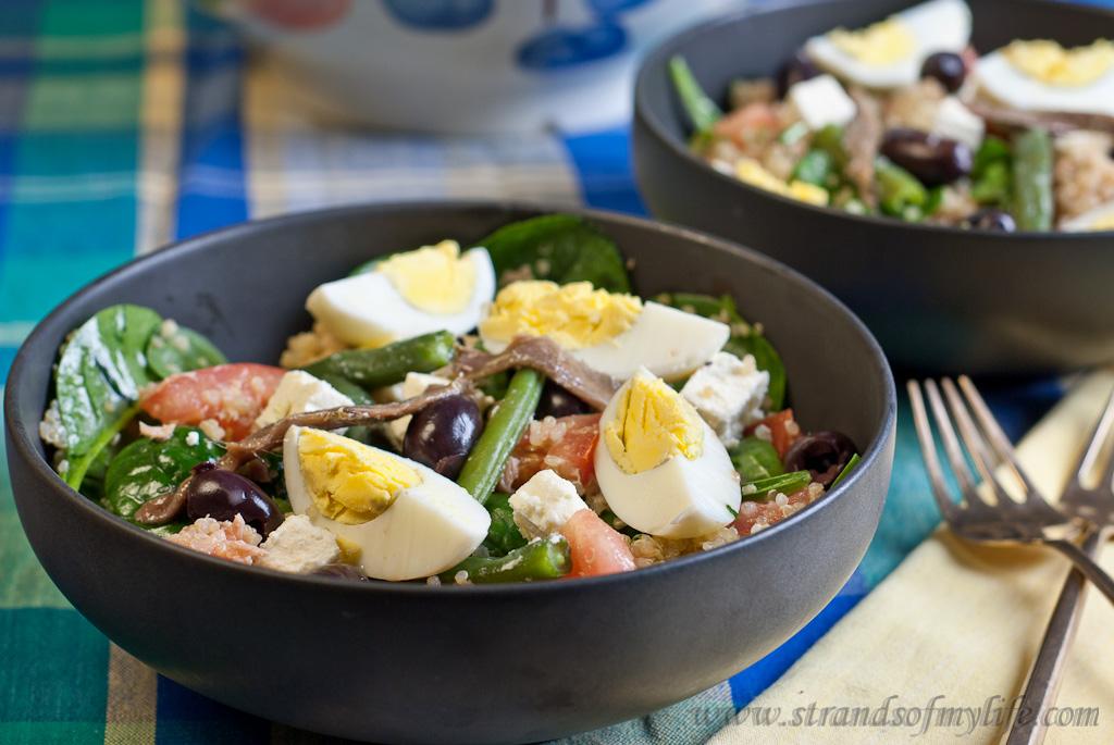 Nicoise-Style Quinoa Salad - low Fodmap and gluten-free