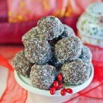 Chocolate Cranberry Truffles - low Fodmap