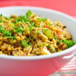 Tuna, Tomato and Rice Stir Fry