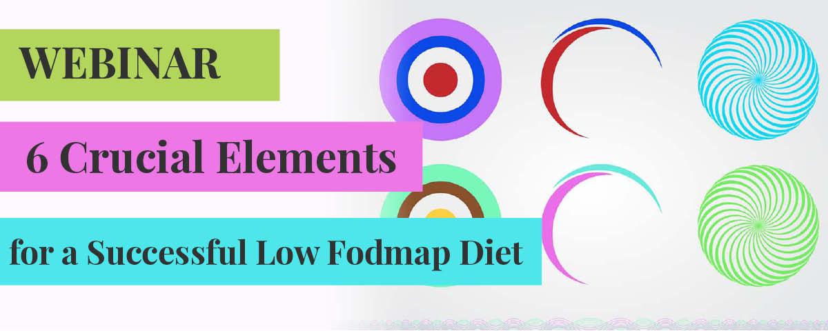 Free Low Fodmap diet webinar