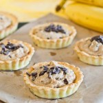 Low Fodmap Peanut Banana Tarts