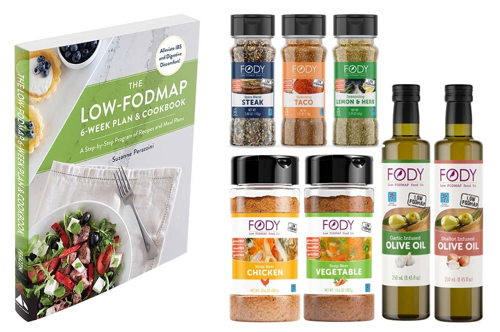Easter Giveaway: Fody Foods Low FODMAP Food Package & My Low FODMAP Cookbook