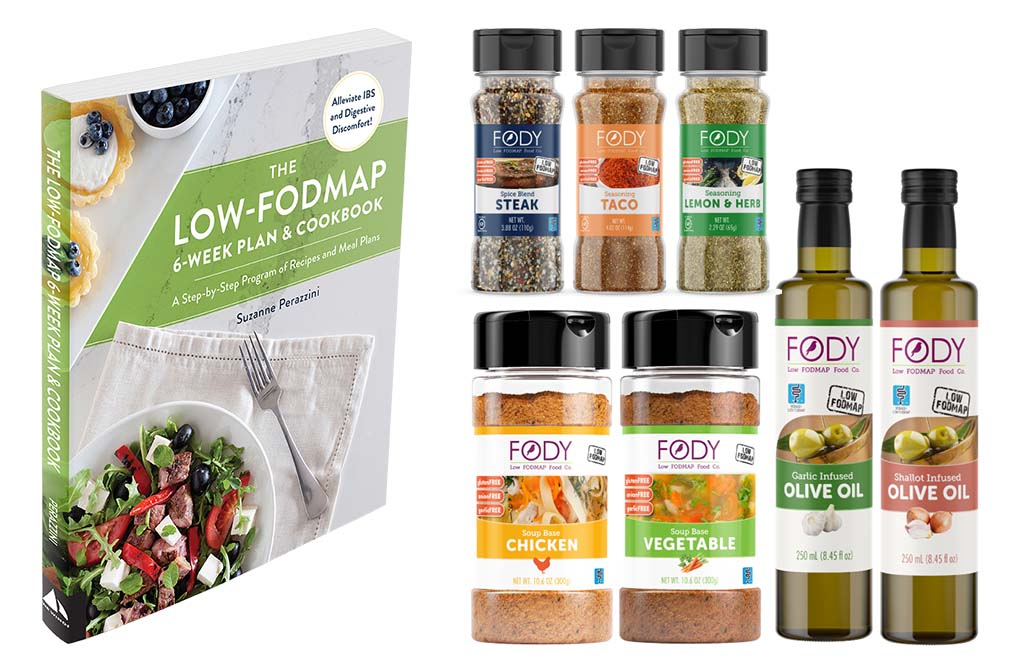 Fody Foods Low FODMAP Food Package & My Low FODMAP Cookbook