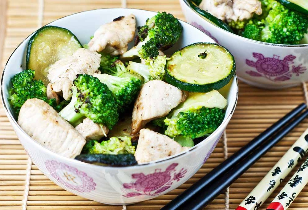 Simple Low Fodmap Chicken and Vegetable Stir-Fry