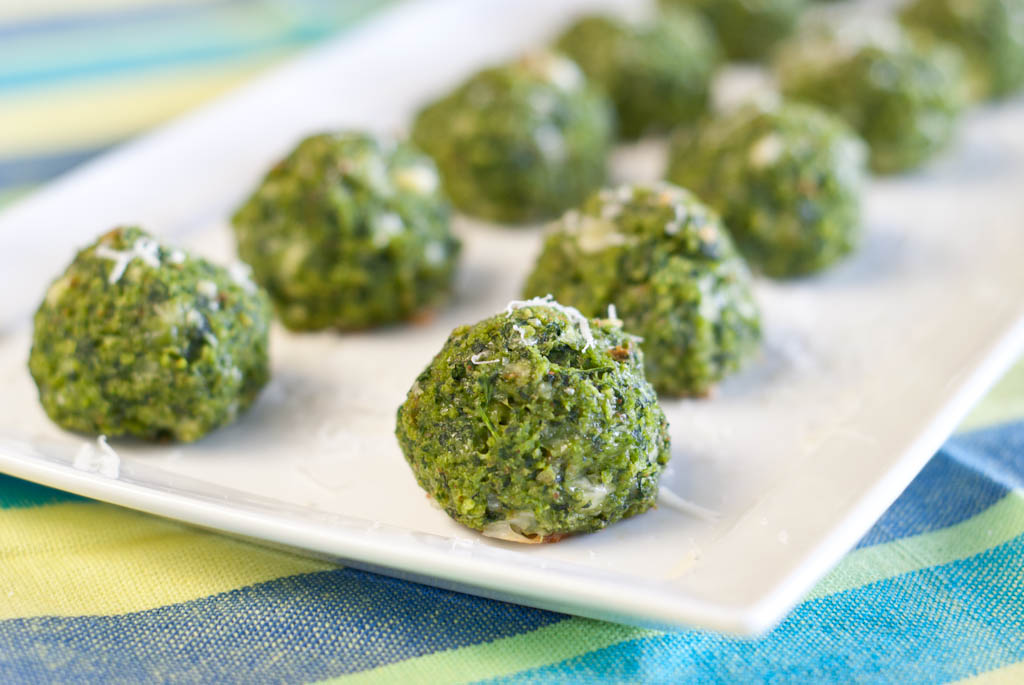 Parmesan and Spinach Balls
