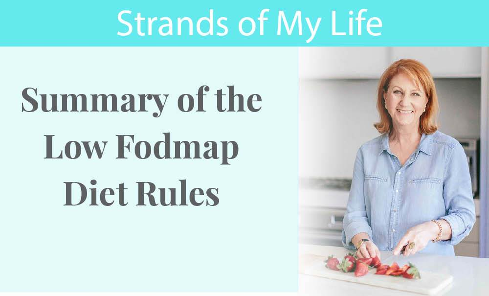 Summary of the Low Fodmap Diet Rules