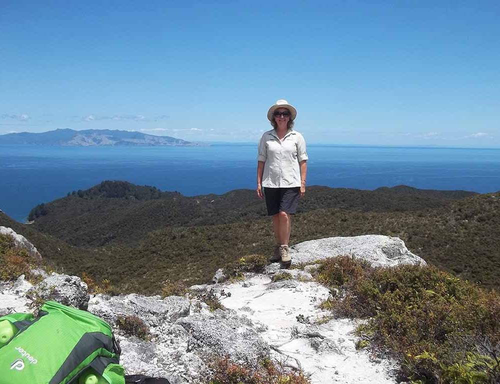Me on Great Barrier Island