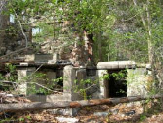 Ruins of a Home near the village of little people - Legends