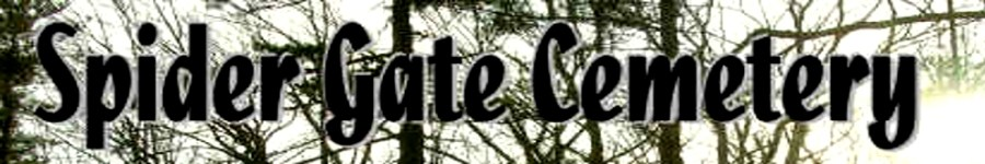 Strange New England - Spider Gate Cemetery - Folklore