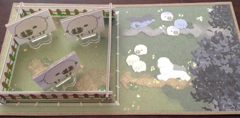 A pasture. Prototype components.